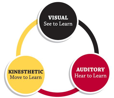 Kenali Gaya Belajar Anak : Visual, Auditori, Kinestetik